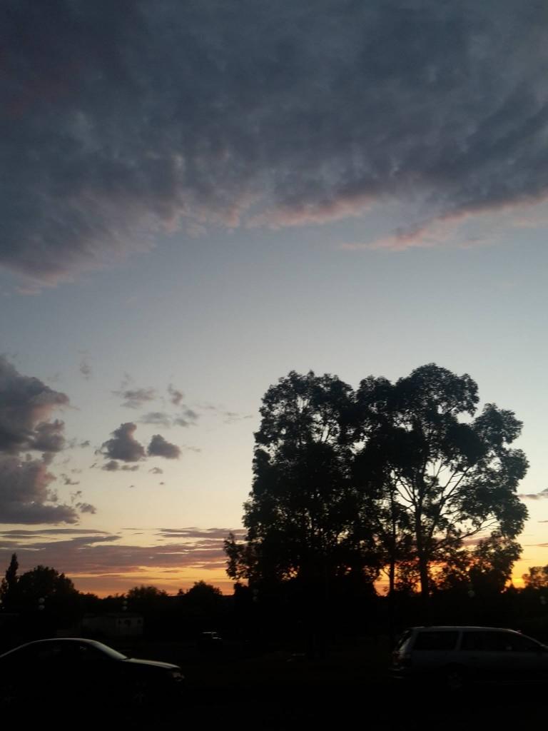 Sunset in Wagga Wagga