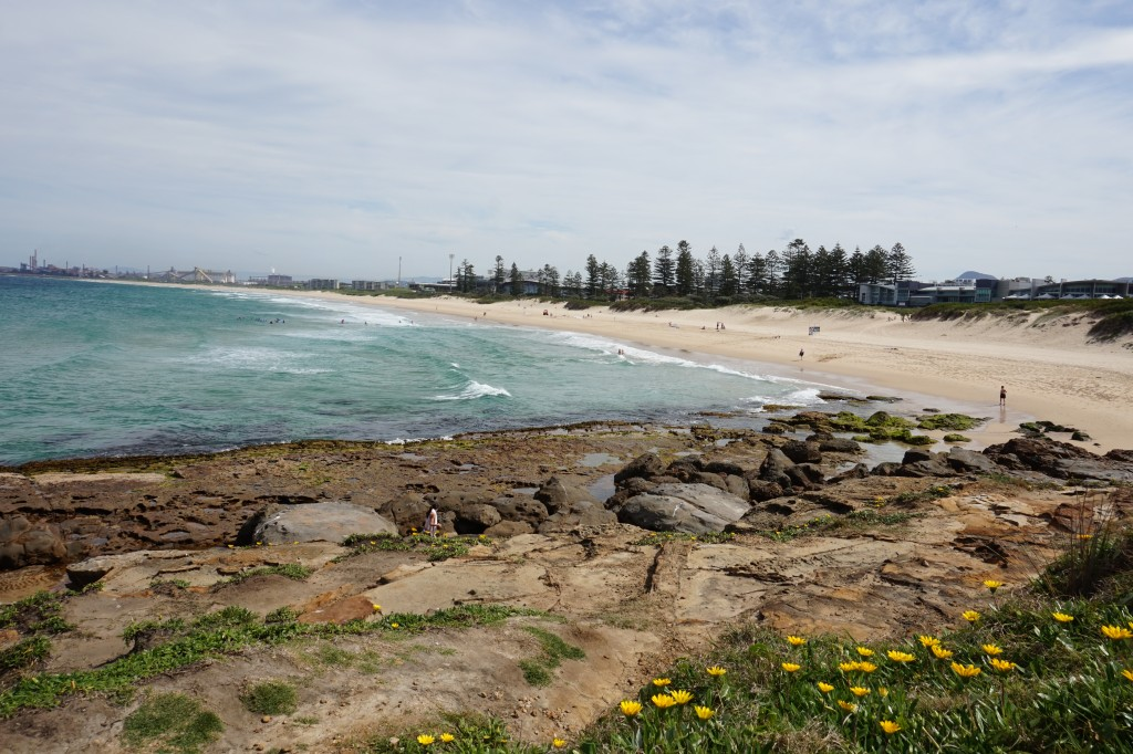 City Beach at Wollongong