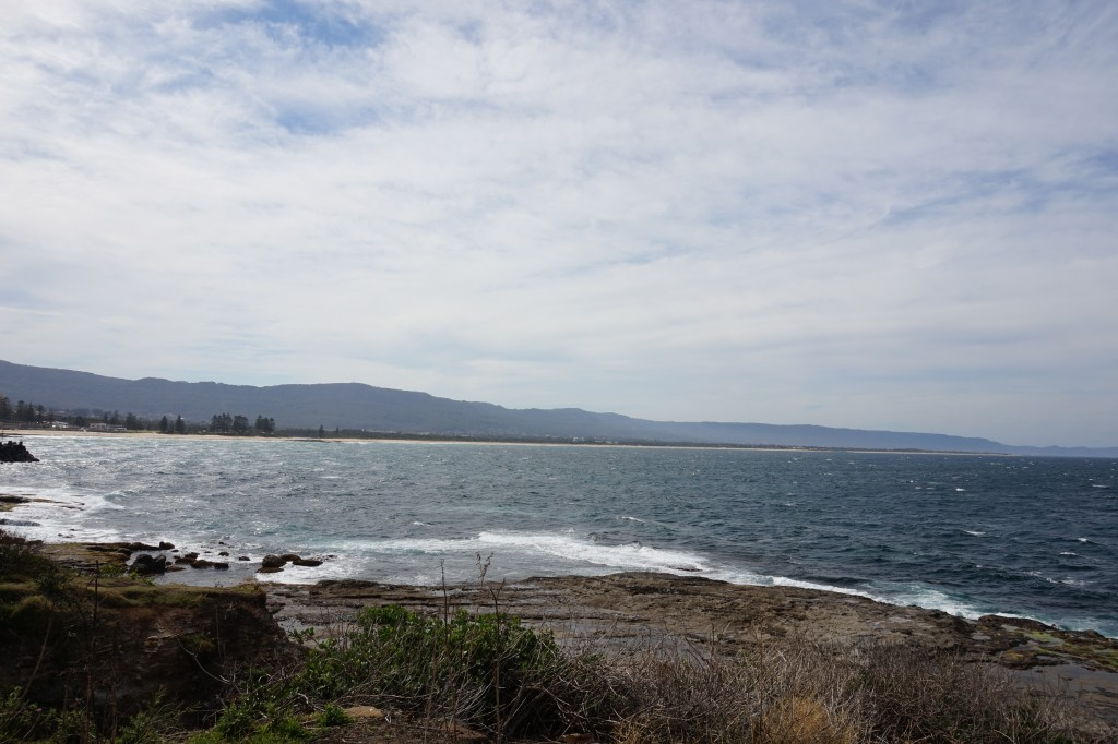 The view from Flagstaff Hill in Wollongong