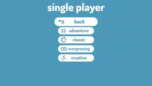 Curvatron's Single Player Menu