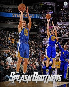 Splash Brothers in action (courtesy of pinterest.com)