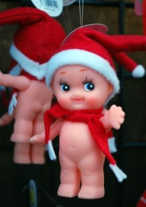 He refuses to clothe the elves. SOURCE