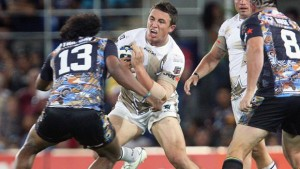 Sam Burgess in his debut in the NRL for the then known as NRL All Stars (courtesy of nrl.com)