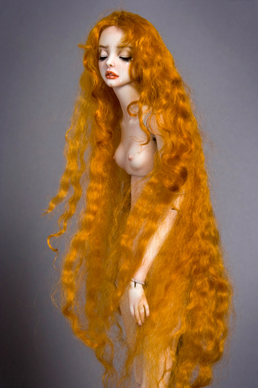 grief beauty doll
