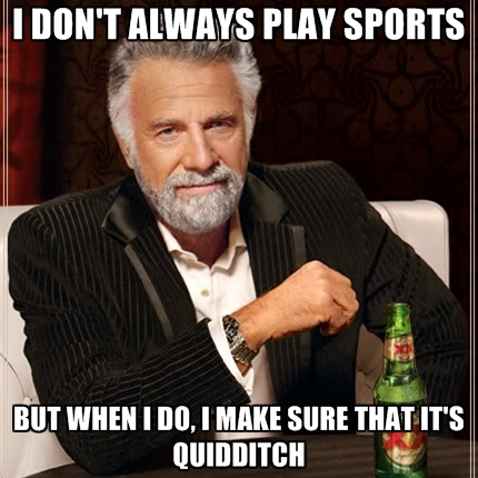 Quidditch isn't real you say? Well then...Source.