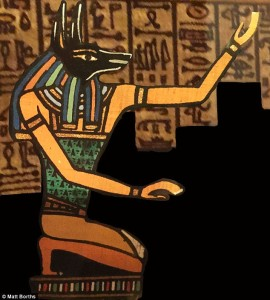 Anubis the Ancient Egyptian God of the Underworld. Source