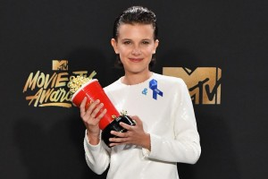Millie Bobby Brown at the MTV Movie and TV Awards. Source.