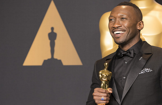Mahershala ali with oscar