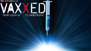 Anti-vaccination supporters viewed a controversial film in a school hall