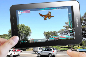 AR adds a computer-generated element to normal vision