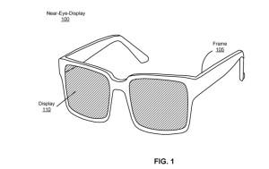 Facebook patents AR glasses design