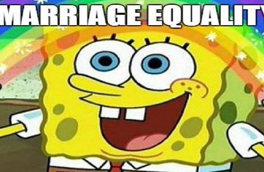 Marriage Equality Spongebob