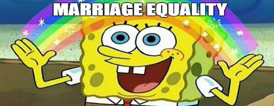 Marriage Equality Spongebob