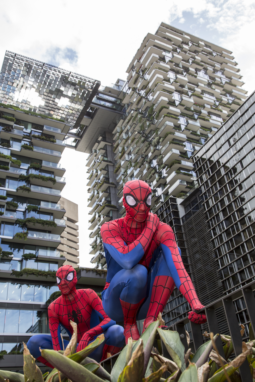 Spider Man comes to Sydney!