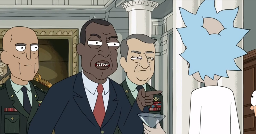 Rick VS The President, we all saw this coming...