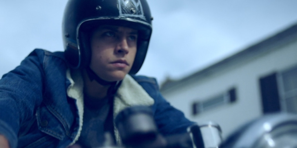 Jughead Jones has a motorbike?! Be still, my beating heart!