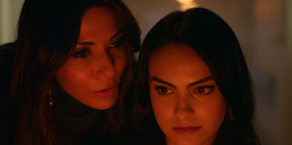The Lodge women were thick as thieves in Season One, but Hiram's arrival threatens that