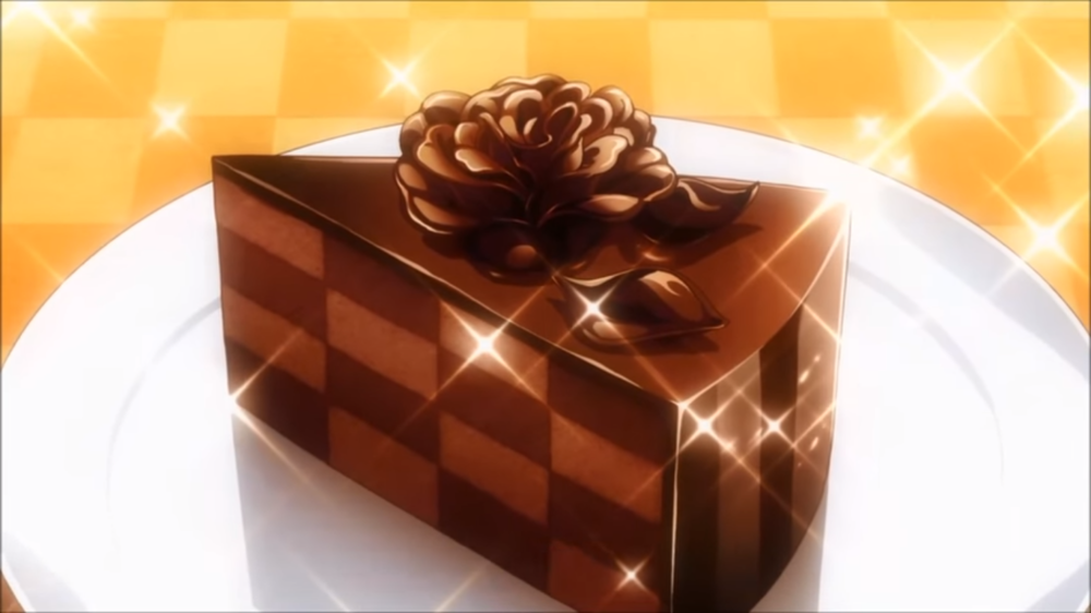 Food wars chocolate cake