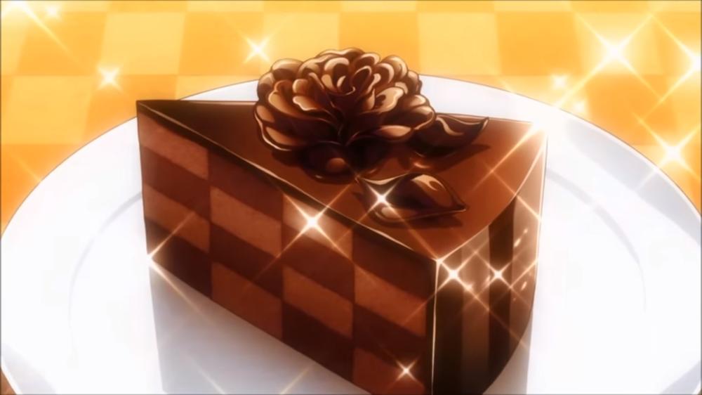 Food wars chocolate cake