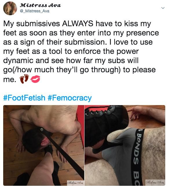 Foot fetishes discussed on social media