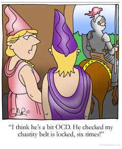 Chastity cartoon