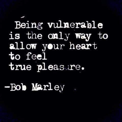 Love and vulnerability are intertwined