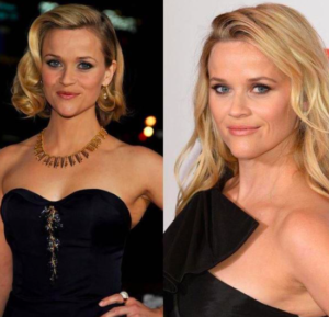 Reese Witherspoon 10-year photo challenge