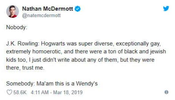 Twitter J.K. Rowling