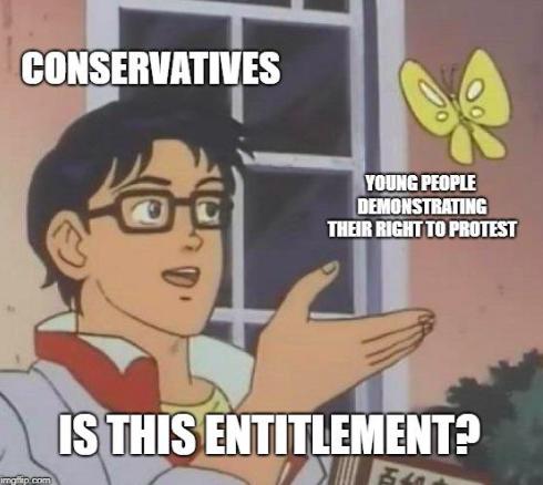 protest meme