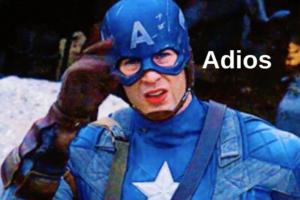 Adios Avengers Endgame