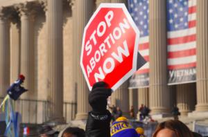 anti-abortion march America