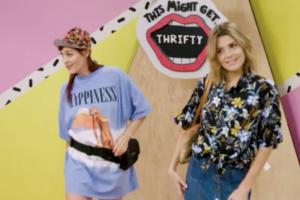 op-shop thrifty capsule wardrobe