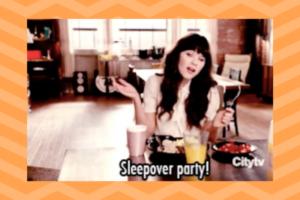 Sleepover party? Winter break