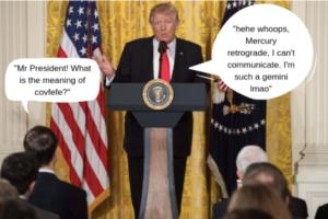 Donald Trump star sign Gemini