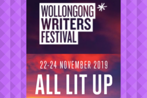 Wollongong Writers Festival All Lit Up 2019