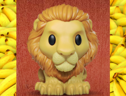 Woolworths Ooshies Lion King