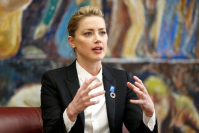 Amber Heard at the United Nations Johnny Depp