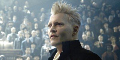 Johnny Depp as Grindelwald in Fantastic Beasts 3