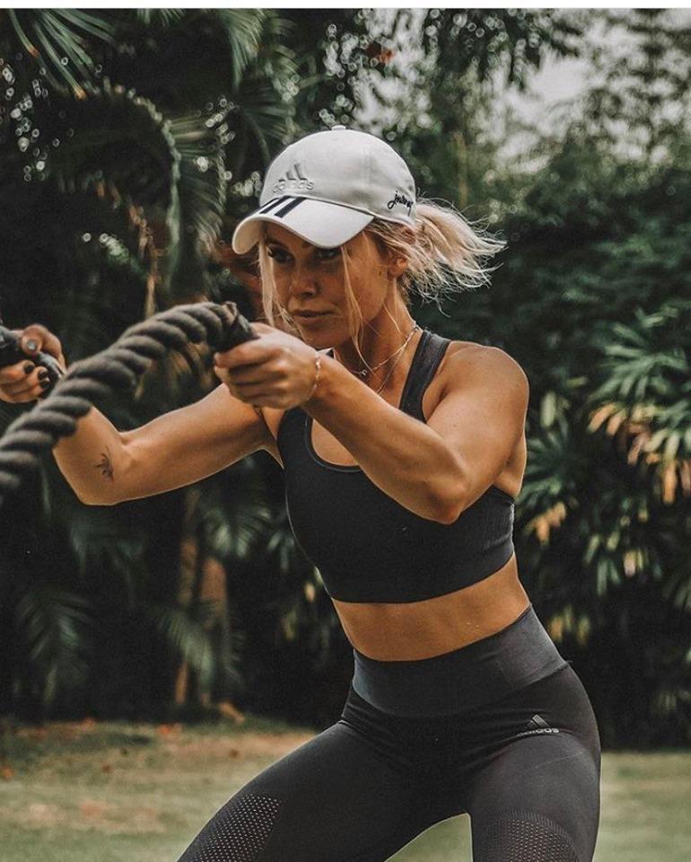 DJ Tigerlily practising active wellness