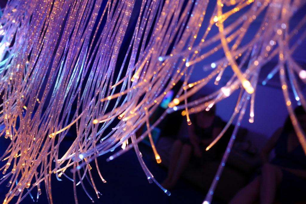 fibre optic light multi sensory room
