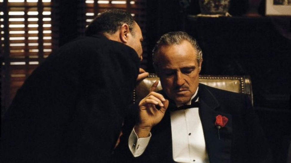 The Godfather photo for the throwback movies list