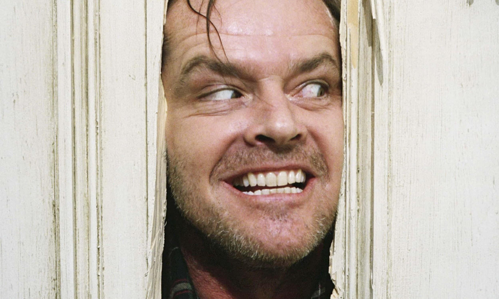 Photo of character from the throwback movies the shining