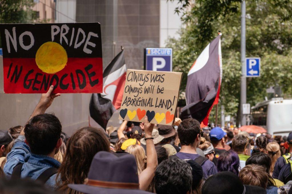 racial injustice march Australia