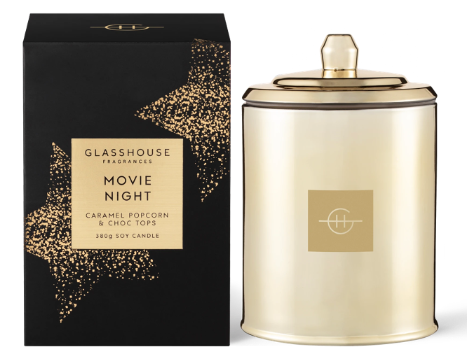 Candle from Glasshouse is a luxe gift