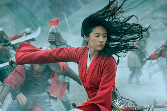Mulan in battle