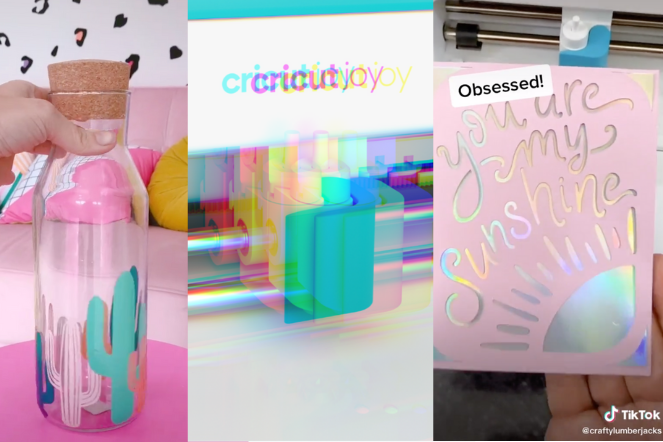 These Amazing TikTok DIYs Will Have You Running to Buy This Craft Machine