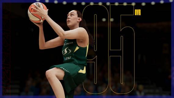 NBA2K21 WNBA player