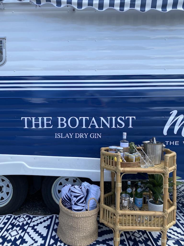 new botanist gin caravan