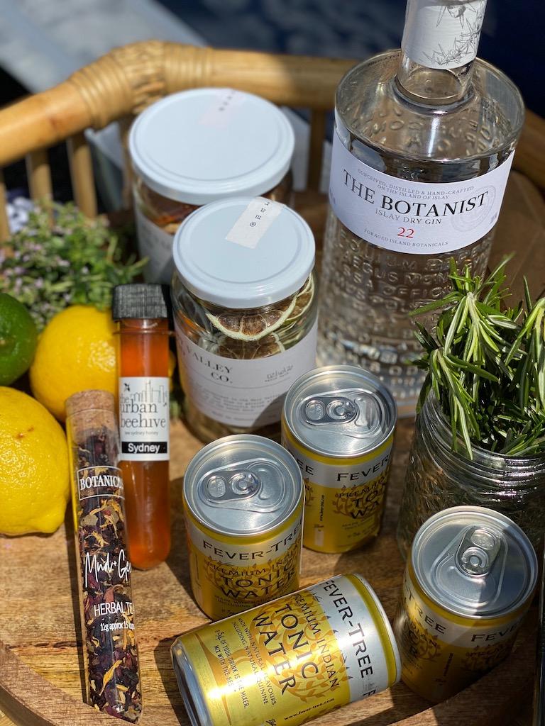 lovely botanist gin goods