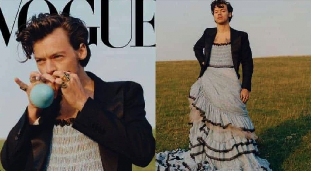 Harry Styles on Vogue